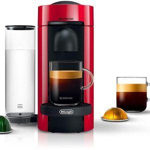 Nespresso VertuoPlus Coffee and Espresso De'Longhi